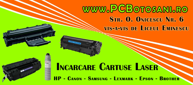 incarcare refill cartuse toner laser